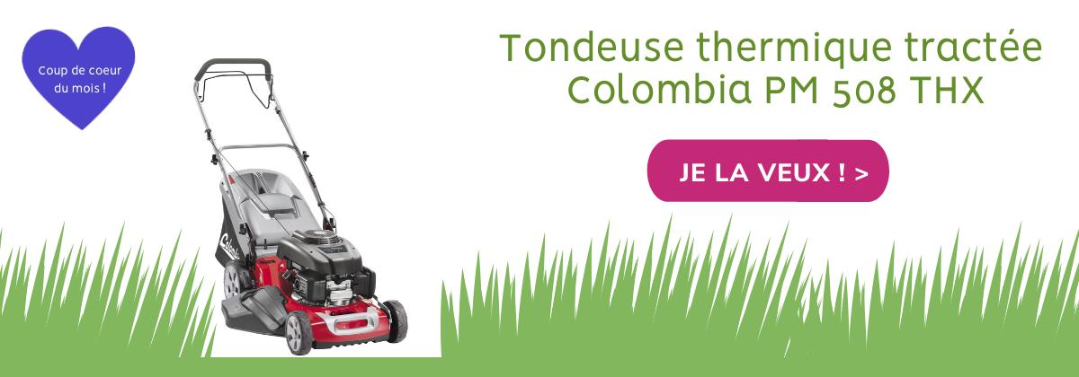 Tondeuse thermique tractée Colombia PM 508 THX